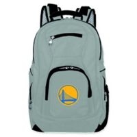 NBA Golden State Warriors 19-Inch Laptop Backpack in Grey
