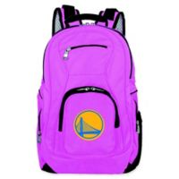 NBA Golden State Warriors 19-Inch Laptop Backpack in Pink