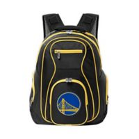 NBA Golden State Warriors 19-Inch Laptop Backpack in Black