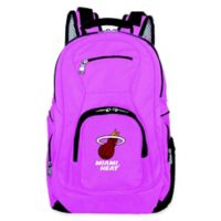 NBA Miami Heat 19-Inch Laptop Backpack in Pink