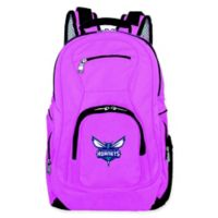 NBA Charlotte Hornets 19-Inch Laptop Backpack in Pink