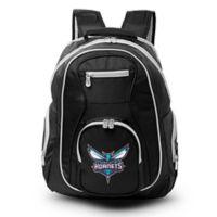 NBA Charlotte Hornets 19-Inch Laptop Backpack in Black