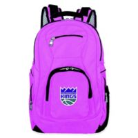 NBA Sacramento Kings 19-Inch Laptop Backpack in Pink