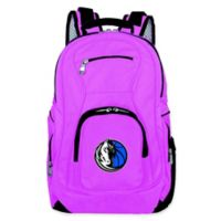 NBA Dallas Mavericks 19-Inch Laptop Backpack in Pink