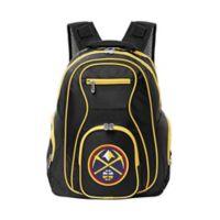 NBA Denver Nuggets 19-Inch Laptop Backpack in Black