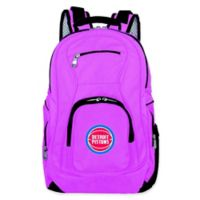 NBA Detroit Pistons 19-Inch Laptop Backpack in Pink