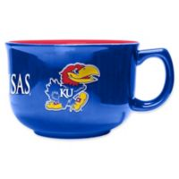 University of Kansas 32 oz. Ceramic Soup Mug