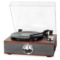 Victrola™ Wood 5-in-1 Bluetooth® Record Player in Espresso