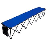 TravelChair® Company TravelBench Original 6-Seat Folding Sideline Bench in Blue