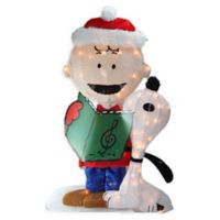 Peanuts® Charlie and Snoopy 32-Inch Pre-Lit 2-D Outdoor Decoration