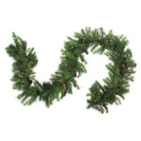 108-Inch Pre-Lit Dakota Red Pine Garland