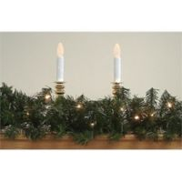 Northlight® 9-Foot Deluxe Windsor Artificial Pine Garland with Clear Lights