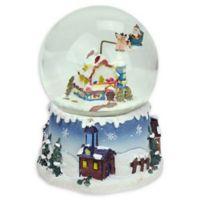 5.5-Inch Musical Santa Claus Water Globe