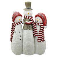 Northlight® 18-Inch Snowman Carolers Statue