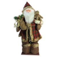 60-Inch Inflatable Musical Santa Claus Figure