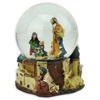 Northlight Nativity Scene Musical Snow Globe