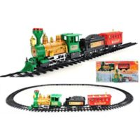 19-Piece Lighted & Animated Express Train Set