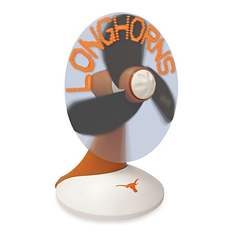 University Of Texas Light Up Desktop Message Fan