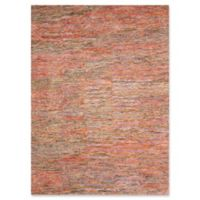 Nourison Gemstone 9'9 x 13'9 Handcrafted Area Rug in Grapefruit/Latte