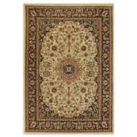 Dynamic Rugs® Yazd Medallion 2' x 3'6 Area Rug in Cream/Black
