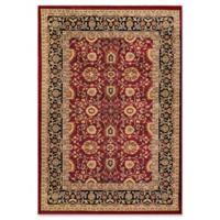 Dynamic Rugs® Yazd Kashan 2' x 3'6 Area Rug in Red/Black