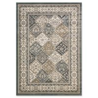 Dynamic Rugs® Yazd Panel 2' x 3'6 Area Rug in Blue/Ivory