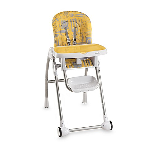 Evenflo Compact Fold High Chair In Marianna Bed Bath