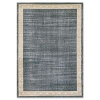 Dynamic Rugs® Yazd Border 2' x 3'6 Area Rug in Blue/Grey
