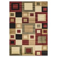 Dynamic Rugs® Yazd Manhattan 2' x 3'6 Area Rug in Red/Sage