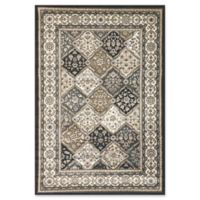 Dynamic Rugs® Yazd Panel 2' x 3'6 Area Rug in Grey/Ivory