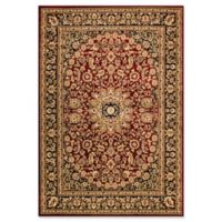 Dynamic Rugs® Yazd Medallion 2' x 3'6 Area Rug in Red/Black