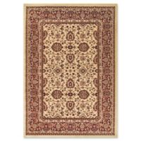 Dynamic Rugs® Yazd Kashan 2' x 3'6 Area Rug in Cream/Red