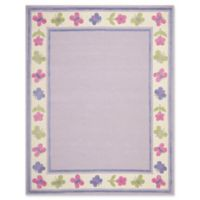 Safavieh Kids® Butterfly Border 8' x 10' Rug in Lavendar