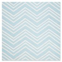 Safavieh Kids® Chevron 5' Square Hand Tufted Area Rug in Mint