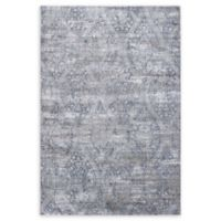 "Dynamic Rugs® Molde 6'7"" X 9'6"" Powerloomed Area Rug in Grey"