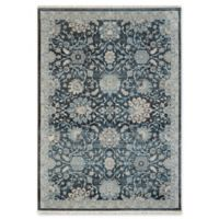 "Dynamic Rugs® Kashan 7'10"" X 10' Powerloomed Area Rug in Blue"