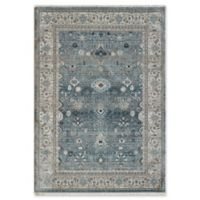 "Dynamic Rugs® Agra 2' X 3'11"" Powerloomed Area Rug in Light Blue"