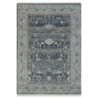 "Dynamic Rugs® Agra 7'10"" X 10' Powerloomed Area Rug in Blue"