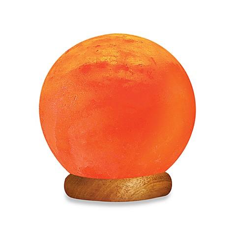Himalayan ionic crystal sun globe salt lamp bed bath for Himalayan glow salt crystal lamp reviews