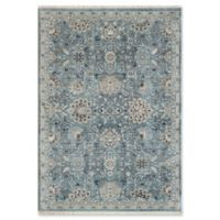 "Dynamic Rugs® Kashan 2' X 3'11"" Powerloomed Area Rug in Light Blue"