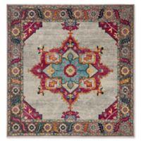 Safavieh Merlot Fletcher 6'7 Square Area Rug in Cream