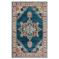 Safavieh Merlot Fletcher 4' x 6' Power-Loomed Area Rug in Blue
