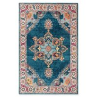 Safavieh Merlot Fletcher 5'1 x 7'6 Power-Loomed Area Rug in Blue