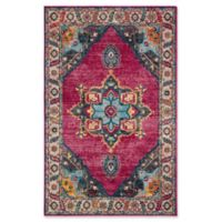 Safavieh Merlot Fletcher 4' x 6' Area Rug in Fuchsia