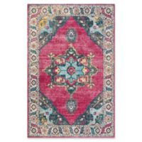 Safavieh Merlot Fletcher 5'1 x 7'6 Area Rug in Fuchsia