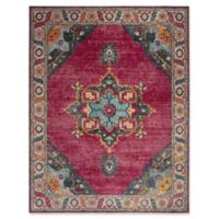 Safavieh Merlot Fletcher 8' x 10' Area Rug in Fuchsia