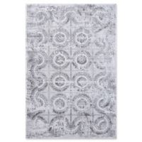 "Dynamic Rugs® Turku 5'3"" X 7'7"" Powerloomed Area Rug in Grey"