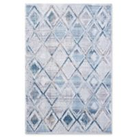 "Dynamic Rugs® Lahti 3'6"" X 5'6"" Powerloomed Area Rug in Cream/grey"