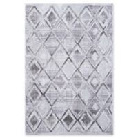 "Dynamic Rugs® Lahti 5'3"" X 7'7"" Powerloomed Area Rug in Gray/cream"