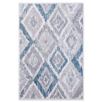 "Dynamic Rugs® Pori 5'3"" X 7'7"" Powerloomed Area Rug in Cream/grey"